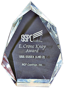 NCP SSPC Award for USS Essex